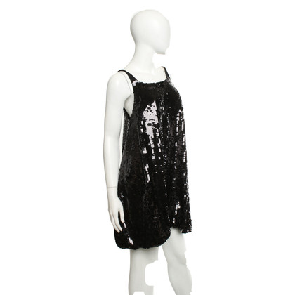 See by Chloé Sequined dress in black