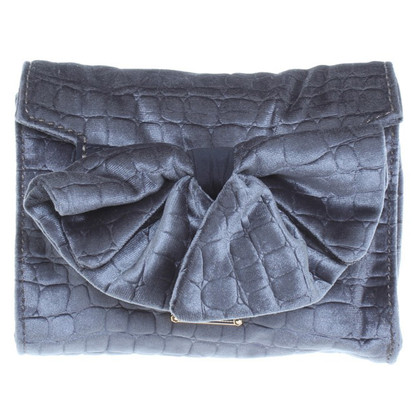 Marc Jacobs Samtclutch with bow