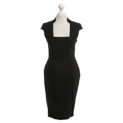 Hugo Boss Black dress with square neckline