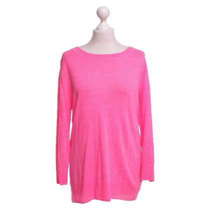 J. Crew Linen sweater in pink