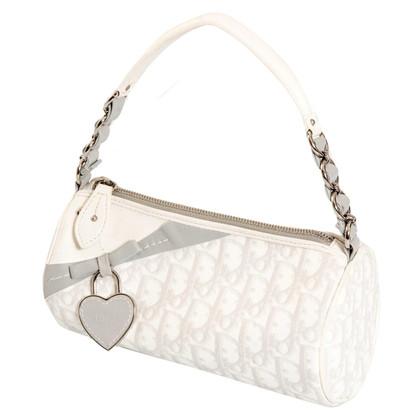 Christian Dior white bag