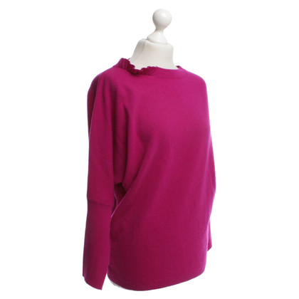 Blumarine Wool sweater in violet