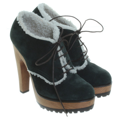 Dolce & Gabbana Winter ankle pumps