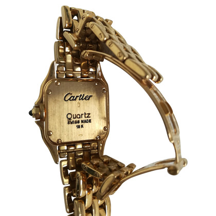 "Cartier ""Panthère"" watch in yellow gold"