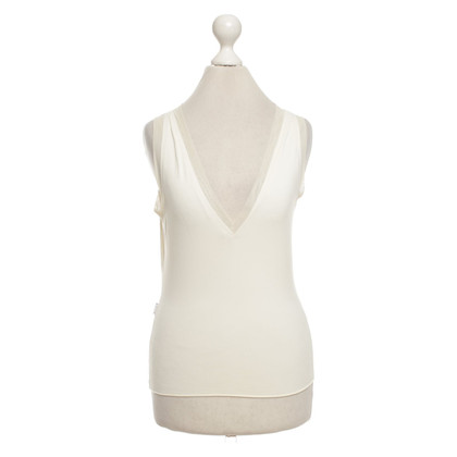 Moschino Top in crème