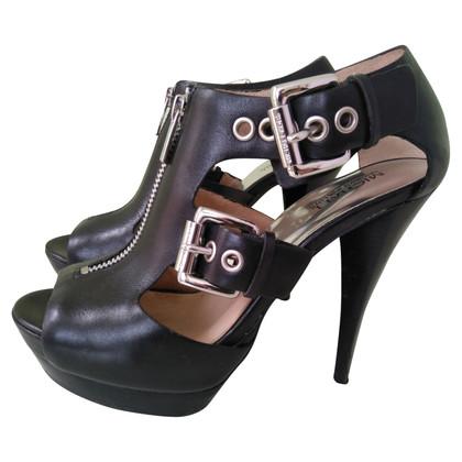 Michael Kors Dames sandaal in het zwart Leren EU 37.5