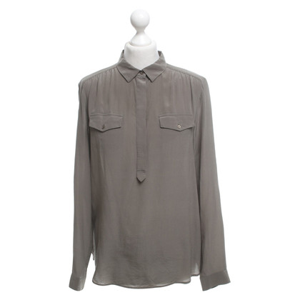 Comptoir des Cotonniers Silk blouse in khaki