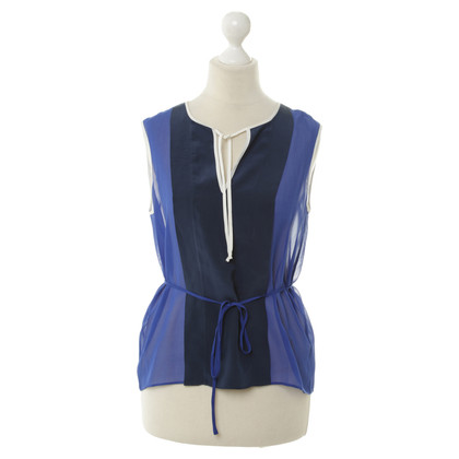BCBG Max Azria Blue top