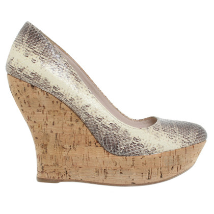 Miu Miu Wedges leer
