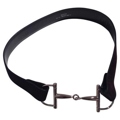Gucci With Horsebit buckle belt