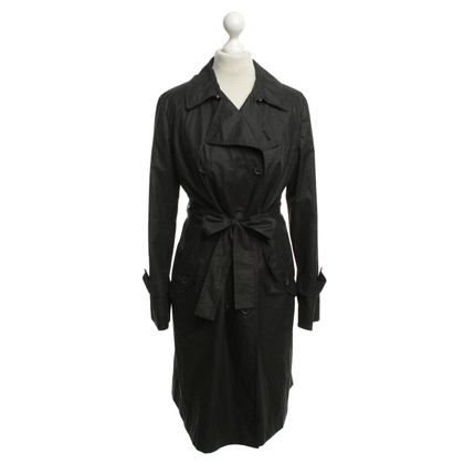 Max Mara Trench in nero