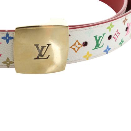 Louis Vuitton Gürtel aus Monogram Multicolore Canvas