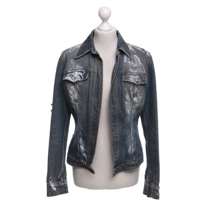 Dolce & Gabbana Denim jacket in destroyed look