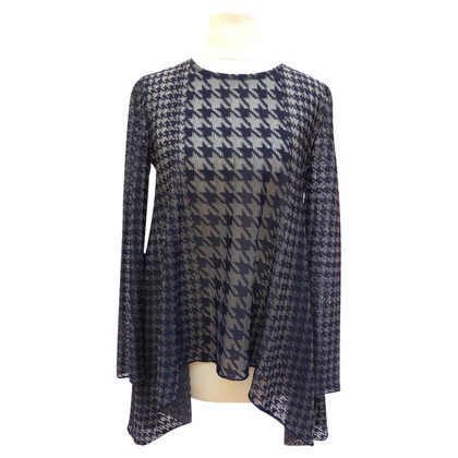Christian Dior Top met Houndstooth patroon