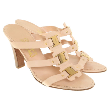 Salvatore Ferragamo Sandals in nude