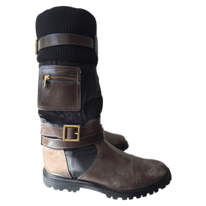 Tory Burch Boots in military look