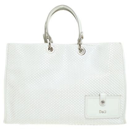 D&G Shopper in Weiß