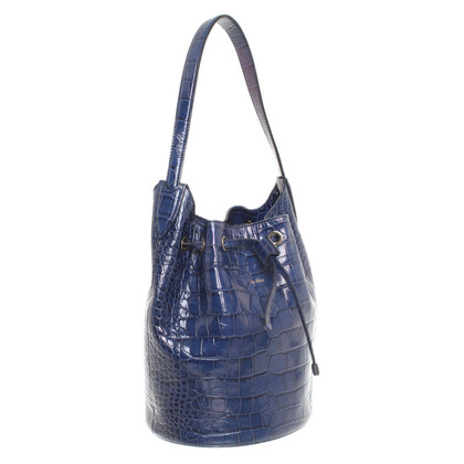 Max Mara Shoulder bag in blue