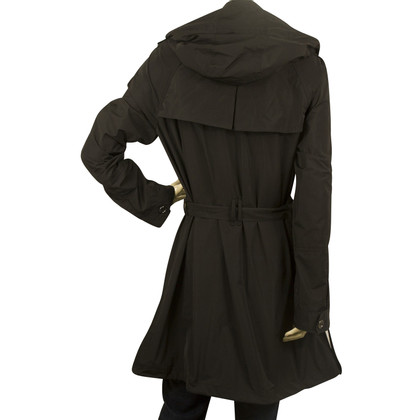 Burberry Black raincoat