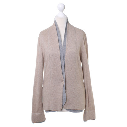 Brunello Cucinelli Strickjacke in Beige-Grau
