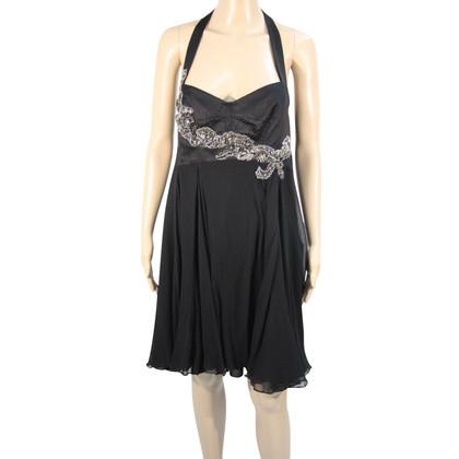 Karen Millen Silk dress in black