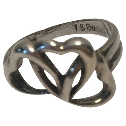 Tiffany & Co. Anello in argento con cuore