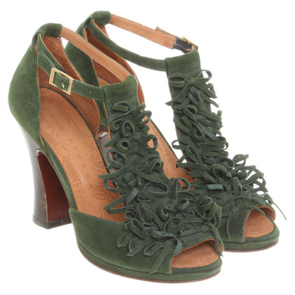 Other Designer Peep-toes in green