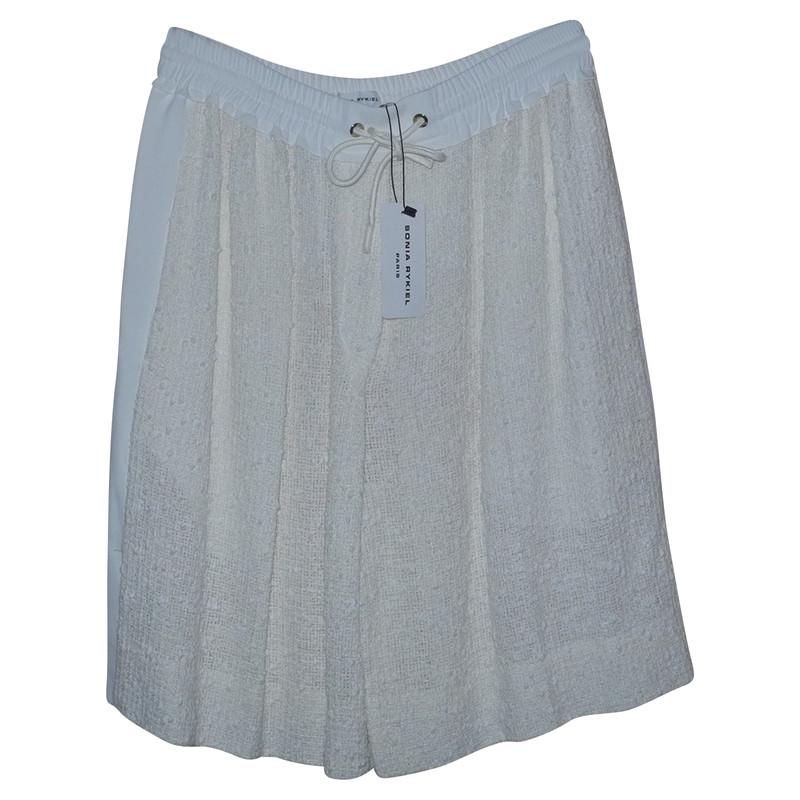 Hand Shorts Cotton Cream In Second Sonia Rykiel n0vN8mw