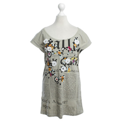 John Galliano T-shirt met print