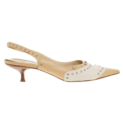 Moschino Pumps aus Leder