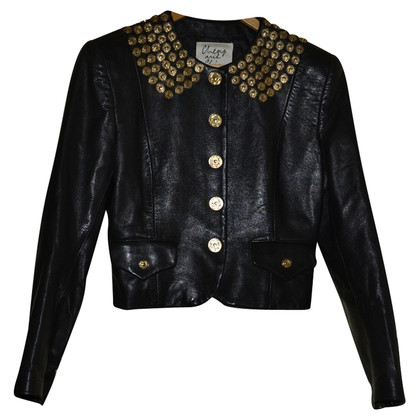 Moschino Cheap and Chic Lederjacke