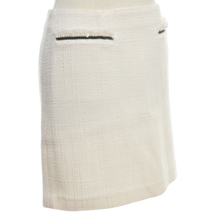 Tara Jarmon skirt bouclé in crema