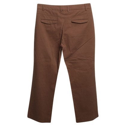 René Lezard 3/4 trousers in brown