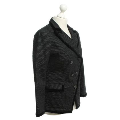 Closed Blazer with striped pattern