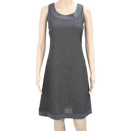 Armani Transparentes Kleid in Grau