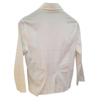 René Lezard White blouse