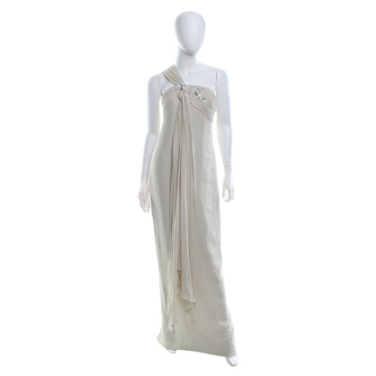Marchesa Evening dress in cream