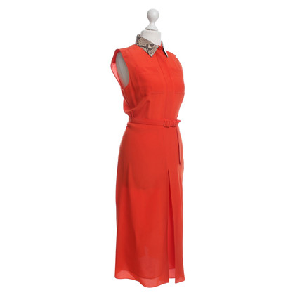 Gucci Seidenkleid in Orange