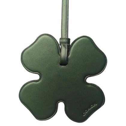 Coach Clover Leaf Pendant