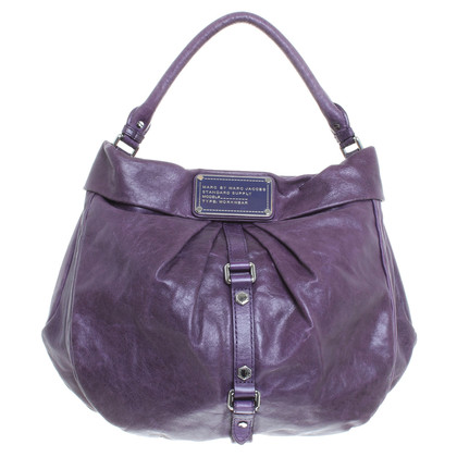 Marc Jacobs Leather handbag purple