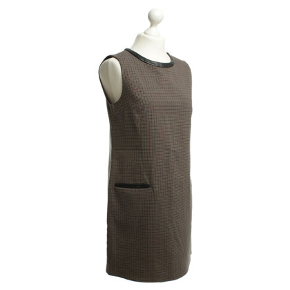 Sandro Sheath dress with checked pattern