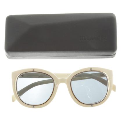 Jil Sander Sonnenbrille mit blauen Gläsern