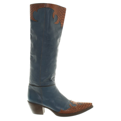 Other Designer Vic Matie - Boots in blue