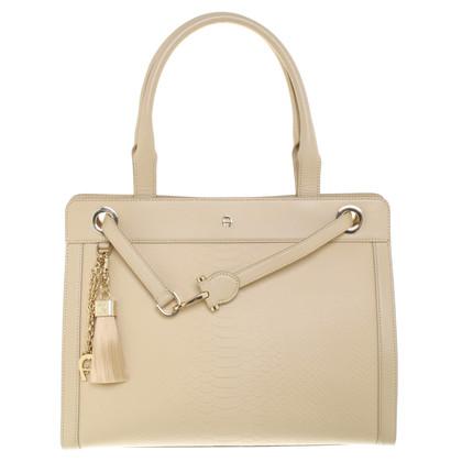 Aigner Handbag in cream white
