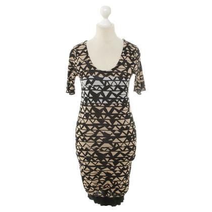 Sonia Rykiel Cotton dress with pattern