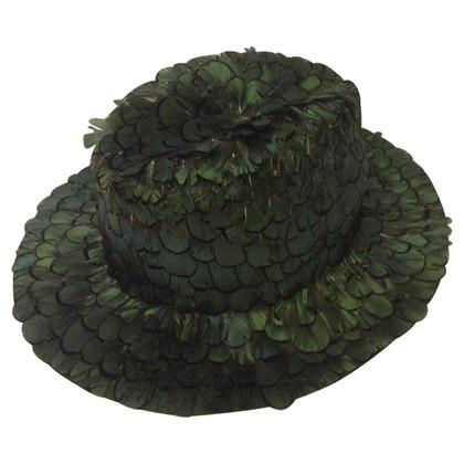 Faliero Sarti Hat feathers