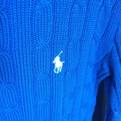 Ralph Lauren Pigtail sweater in blue