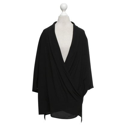 Stella McCartney Silk blouse in black