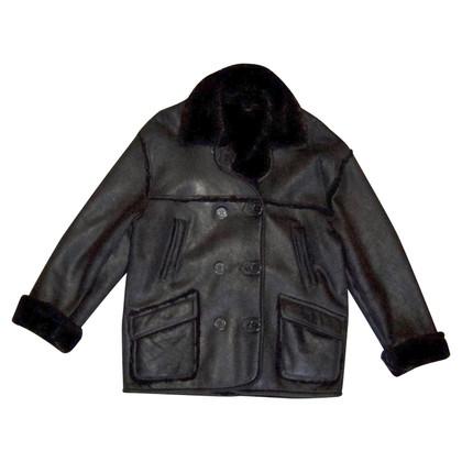 Sonia Rykiel Coat with sheepskin
