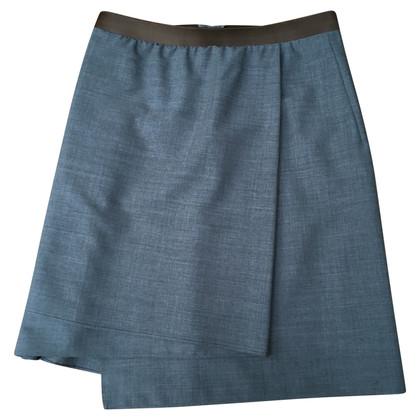 Brunello Cucinelli jupe grise